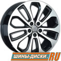 Литой диск для автомобилей hyundai replay HND124 BKF