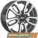 Литой диск для автомобилей hyundai replay HND147 GMF