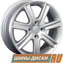 Литой диск для автомобилей hyundai replay HND76 S