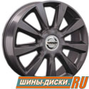 Литой диск для автомобилей nissan replay NS57 GM
