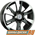 Литой диск для автомобилей toyota replay TY76 BKF
