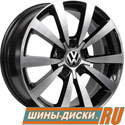 Литой диск для автомобилей vw replay VV158 BKF