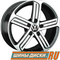 Литой диск для автомобилей vw replay VV177 BKF