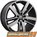 Литой диск для автомобилей vw replay VV89 BKF